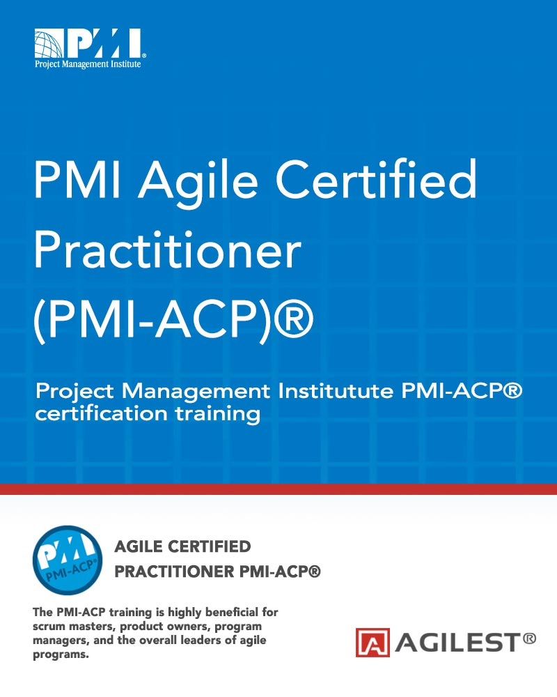 Pmi Agile Certified Practitioner Pmi Acp Training Course