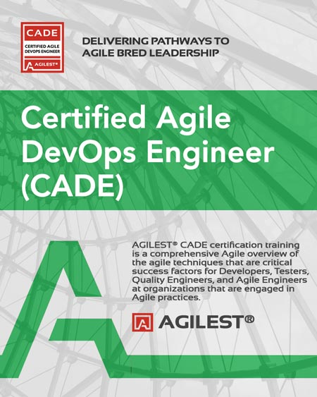 Agilest CADE - DevOps Agile Certification for Developers, Testers and Agile Engineers
